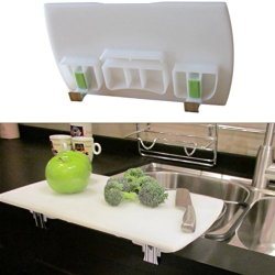 Front Of Sink Cutting Board: Undermount Sink Edition, 3½ Inches Base