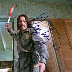 Danny Trejo Autographed Signed Machete Photo Uacc Rd