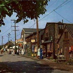 Entrance To Bearskin Neck Rockport Massachusetts Original Vintage Postcard