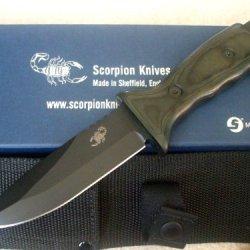 Scorpion Knives Overt Interceptor Tactical Knife Combat Survival T-Ov-I