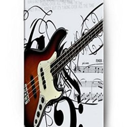 Ouo Classic Design Snap-On Protective Hard Case Cover For 4.7 Inch Apple Iphone 6 Music Guitar Fan