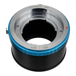 Fotodiox Pro Lens Mount Adapter With Aperture Control Ring - Deckel-Bayonett (Deckel Bayonet Dkl) Mount Lenses To Micro Four Thirds (M-4/3, Mft) Dslr Mirrorless Camera Such As Olympus Pen E-P3, E-M, Om-D, E-M5 Or Panasonic Lumix Dmc-G3, Gh3, Gm1, Gx7Gh4,