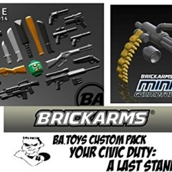 Brickarms B.A. Toys Civic Duty: Your Last Stand Custom Pack