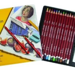 Derwent Pastel Collection, Metal Tin, 24 Count (0700301)