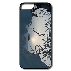 Awesome Momax Snowed Mobile Phone 5S Cover