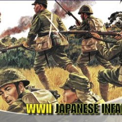 Airfix A01718 1:72 Scale Japanese Infantry Figures Classic Kit Series 1