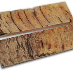 Ram Horn Scales Handle Handles Knife Making Blanks Blades Knives Set Pair 5 Inch For Custom Handles