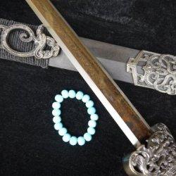 Damascus Steel Handmade Full Tang Blade China Han Dynasty Swords Wood Scabbard
