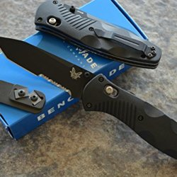 Benchmade 583Sbk Barrage Assisted Opening Knife With Free Benchmade Sharpener