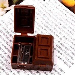 Jennyyang059 Cute Stylish Chocolate Pencil Sharpener Pen Knife Rubber Eraser