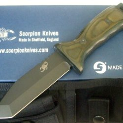 Scorpion Knives Overt Aviator Tactical Knife Survival T-Ov-A