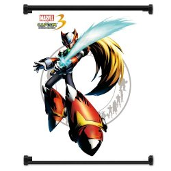 Marvel Vs Capcom 3 Zero Game Fabric Wall Scroll Poster (16X21) Inches