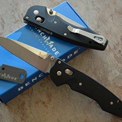 Benchmade 477 Large Emissary Assisted Opening Knife W/ Free Benchmade Mini Sharpener