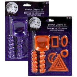 Pack Of 2 Pumpkin Carving Kits