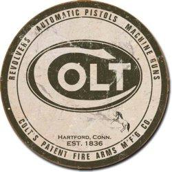 """Colt Tin Sign 11.75"""""""