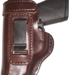 Smith And Wesson Model 642 Heavy Duty Brown Left Hand Inside The Waistband Concealed Carry Gun Holster