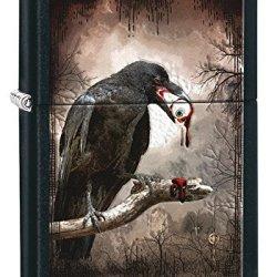 Zippo Goth-Raven Eyeball Pocket Lighter