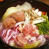 ちゃんこ鍋 盛岡塩ちゃんこセット(スープ・お肉・うどん) 4~5人前分