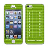iPhone 5/5S ケース(シールタイプ) アメリカンフットボールフィールド柄 アメフト
