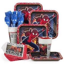 Costume Supercenter Bbkit378 Spider-Man Standard Kit (Serves 8)