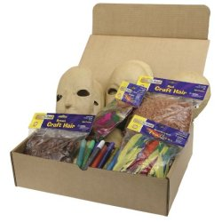 Papier Mache Masks Activities Box
