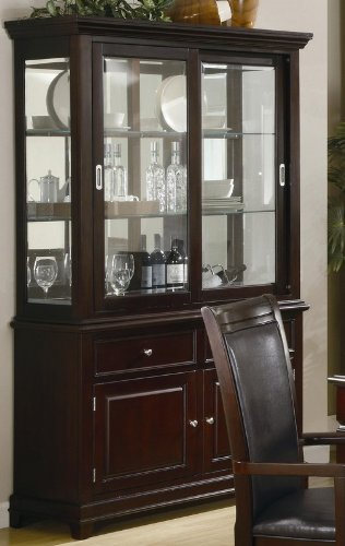 Image of Dining Room Hutch and Buffet - Coaster 101634 (VF_AZ00-76813x37106)
