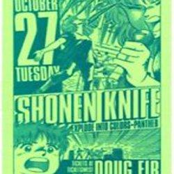 Shonen Knife 2009 Gig Poster Portland Oregon Concert Music Poster