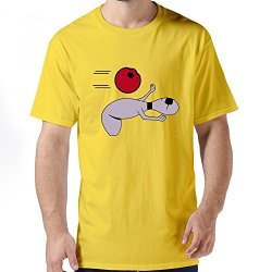 Fantastic Matrix Bowling Pin Mens T Shirt