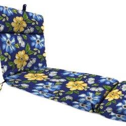 Jordan Manufacturing Plush Chaise Cushion In Janice Royal