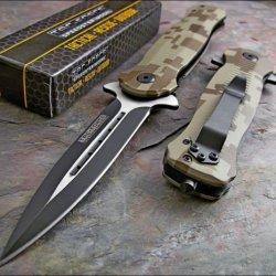 Tac-Force Digital Camo Dagger Glass Breaker Knife New