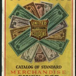 Good As Gold United Profit Sharing Coupons Merchandise Catalog 1932 1933