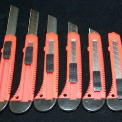 20X Bulk Utility Knife Box Cutters Snap Off Blade