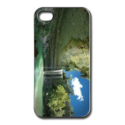 Trendy Metal Beautiful Waterfall Iphone 4 Case