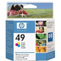 Hp49 Tri Color Cartridge Hp49 Tri Color Cartridge
