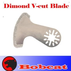 Diamond V Grout Tile Cut Oscillating Multi Tool Saw Blades For Fein Multimaster Bosch Multi-X Craftsman Nextec Dremel Multi-Max Ridgid Dremel Chicago