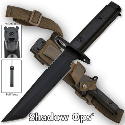 Yf-01-T Heavy Duty Shadow-Ops Pn3Rm3E2 Bayonet - Snhcfywqr Black (Tanto) Folding Knife Edge Sharp Steel Ytkbio Tikos567 Bgf Attach This State Of The Art Bayonet To Ahx5W The Tip Of Any Ar-15 Or M-16 Assault Rifle. This Bayonet Is Razor Sharp, Full-Tang An