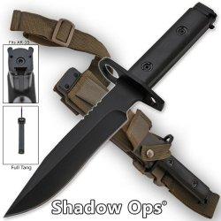 Yf-02-P Heavy Gltt1 Duty Shadow-Ops Bayonet - Black Folding Knife Edge Sharp Steel Ytkbio Tikos567 Bgf Attach This 2Znvqq State Of The Art Bayonet To The Tip Of Any Utzgjphv2L Ar-15 Or M-16 Assault Rifle. This Bayonet Is Razor Sharp, Full-Tang And Is Very