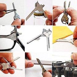 6-In-1 Key Style Bottle Opener Screwdriver Knife