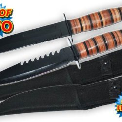 2492-Bk-Set Two 11.5 Inch Zgwgi Hand Argu4Z To Hand Combat Knives W/ Free Sheath Folding Knife Edge Sharp Steel Ytkbio Tikos567 Bgf Set Of Two. Get Your Hands On These 440 Stainless Steel Beauties. These Are Super Strong Survival Knives With Razor Sharp B