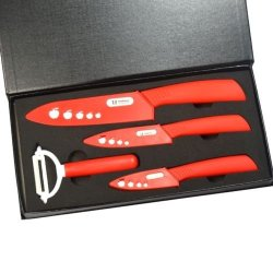 "3""+ 4""+ 6""+Peeler Ultra Sharp Kitchen Ceramic Knife Set Cutlery Knives Straight"
