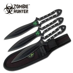 Z Hunter Zb-009 Throwing Knife (3-Piece), 7-Inch