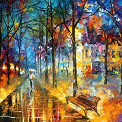 Colors Of My Past Knife Oil Painting On Canvas 30 X 24 In 75 X 60 Cm,Unframed 100% Hand Painted