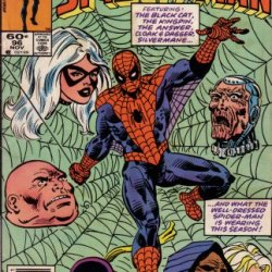 The Spectacular Spiderman, Peter Parker: Featuring The Black Cat, The Kingpin, The Answer, Cloak & Dagger, Silvermane, And What The Well-Dressed Spider-Man Is Wearing This Season! (07148602199, Vol. 1, No. 96, November 1984)