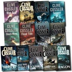 Clive Cussler Dirk Pitt Series Collection 8 Books Set