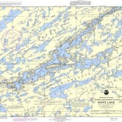 Noaa Chart 14986: Knife Lake