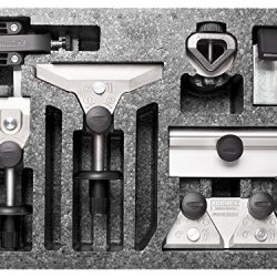 Tormek Tor-Htk706 Hand Tool Kit, Set Of 6 Jigs For Sharpening Knifes, Scissors, Carving Tools, Axe And Hatchets With T-7, T-3, T-4