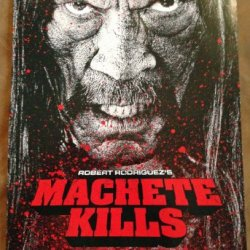 "Machete Kills - 11""X17"" Original Promo Movie Poster Danny Trejo Mint"
