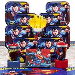 Superman Deluxe Kit (Serves 8)