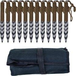 Whetstone Cutlery'S Stripeger 12 Set Kunai Knives