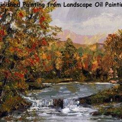 Landscape Oil Painting 102